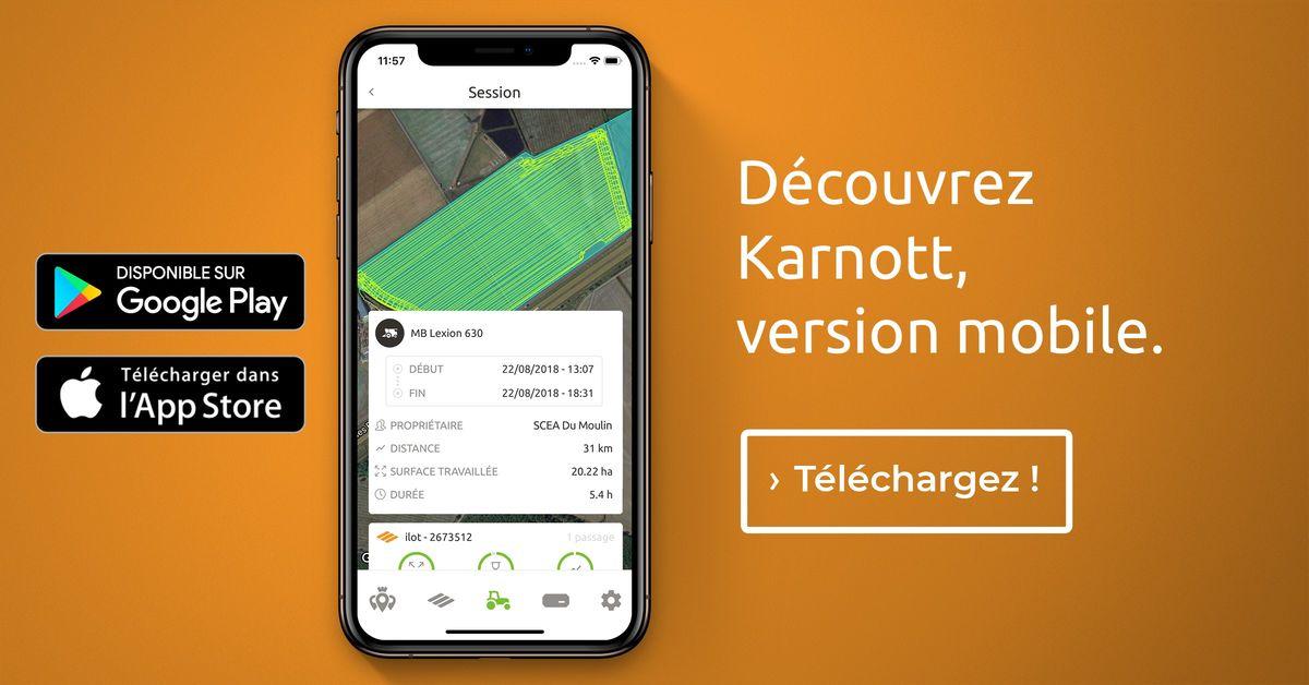 Innovation Karnott, partagez les résultats de vos interventions